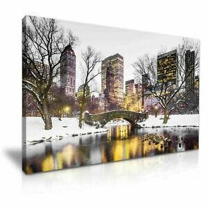 Belgium-Europe-Winter-PICTURE-PRINT-CANVAS-WALL-ART-FRAMED-20X30INCH