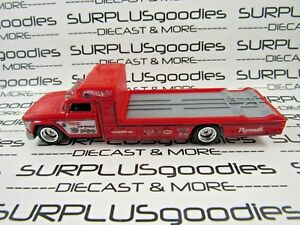 Hot-Wheels-1-64-LOOSE-Tom-the-Mongoose-McEwen-PLYMOUTH-TOW-TRUCK-Rollback-Rig