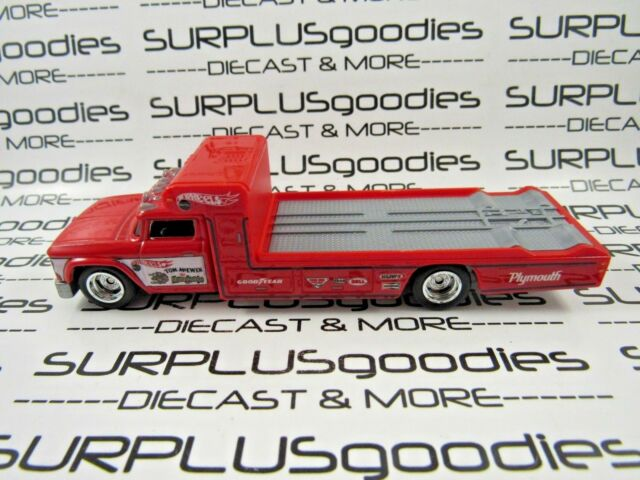 Hot Wheels 1:64 LOOSE Tom the Mongoose McEwen PLYMOUTH TOW TRUCK Rollback Rig