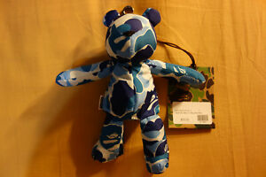 BAPE-by-A-Bathing-Ape-ABC-Camo-Bear-Eco-Bag-034-Blue-Camouflage-034-Packable-Tote-Bag