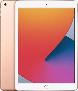 New Apple iPad 8th Generation 32GB, Wi-Fi 10.2 inch - Gold 2020 Model Sealed BOX