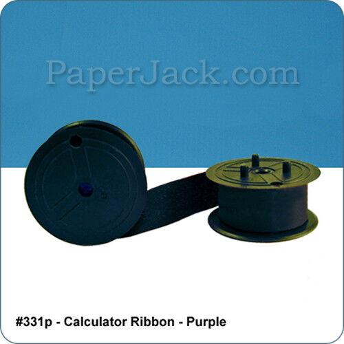 Case of 12 Calculator Ribbons #331p Color: Purple