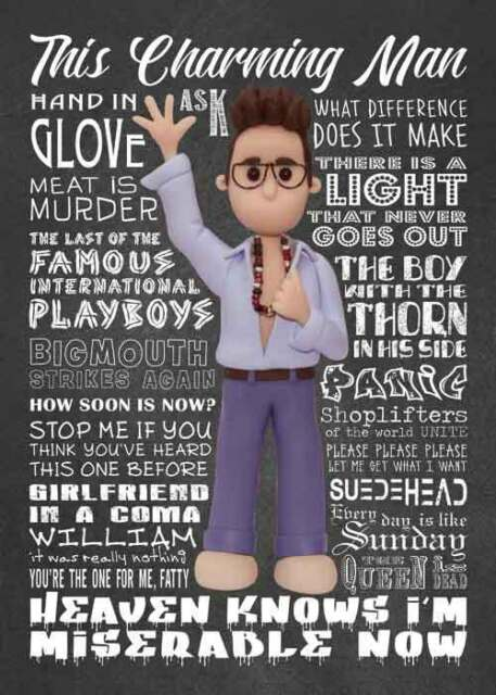 Inspired By Morrissey The Smiths Greeting Birthday Card Ebay