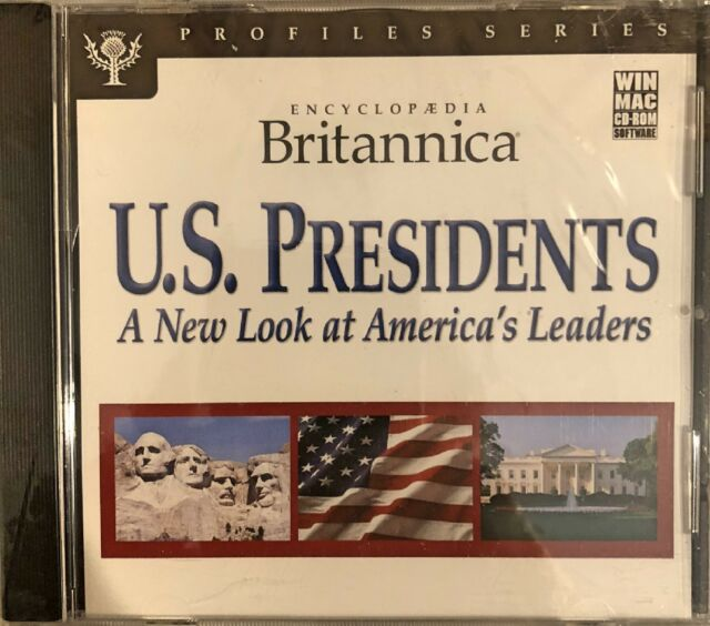 Encyclopedia Britannica U.S. Presidents Pc Brand New Sealed Free US Ship Nice