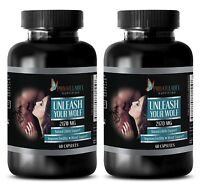 unleash Your Wolf Male Enhancement. Extra Strength (2 Bottle,120 Capsules)