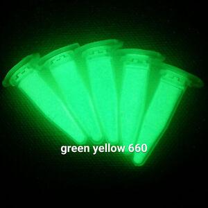 YG660L-50g-GRUN-Leuchtpulver-f-Leuchtfarbe-Kunst-bastel-Lack-Epoxid-Harz-Farbe