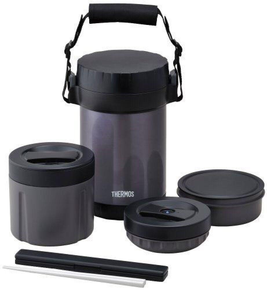 Thermos en acier inoxydable déjeuner Pot de 1.6 Go Bleu Midnight JBG-2000 MDB F S