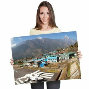 A1-Lukla-Airport-Khumbu-Nepal-Poster-60X90cm180gsm-Print-3431