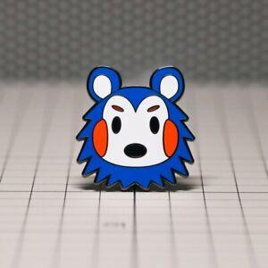 Cute Hedgehog Pin Animal Crossing Pin
