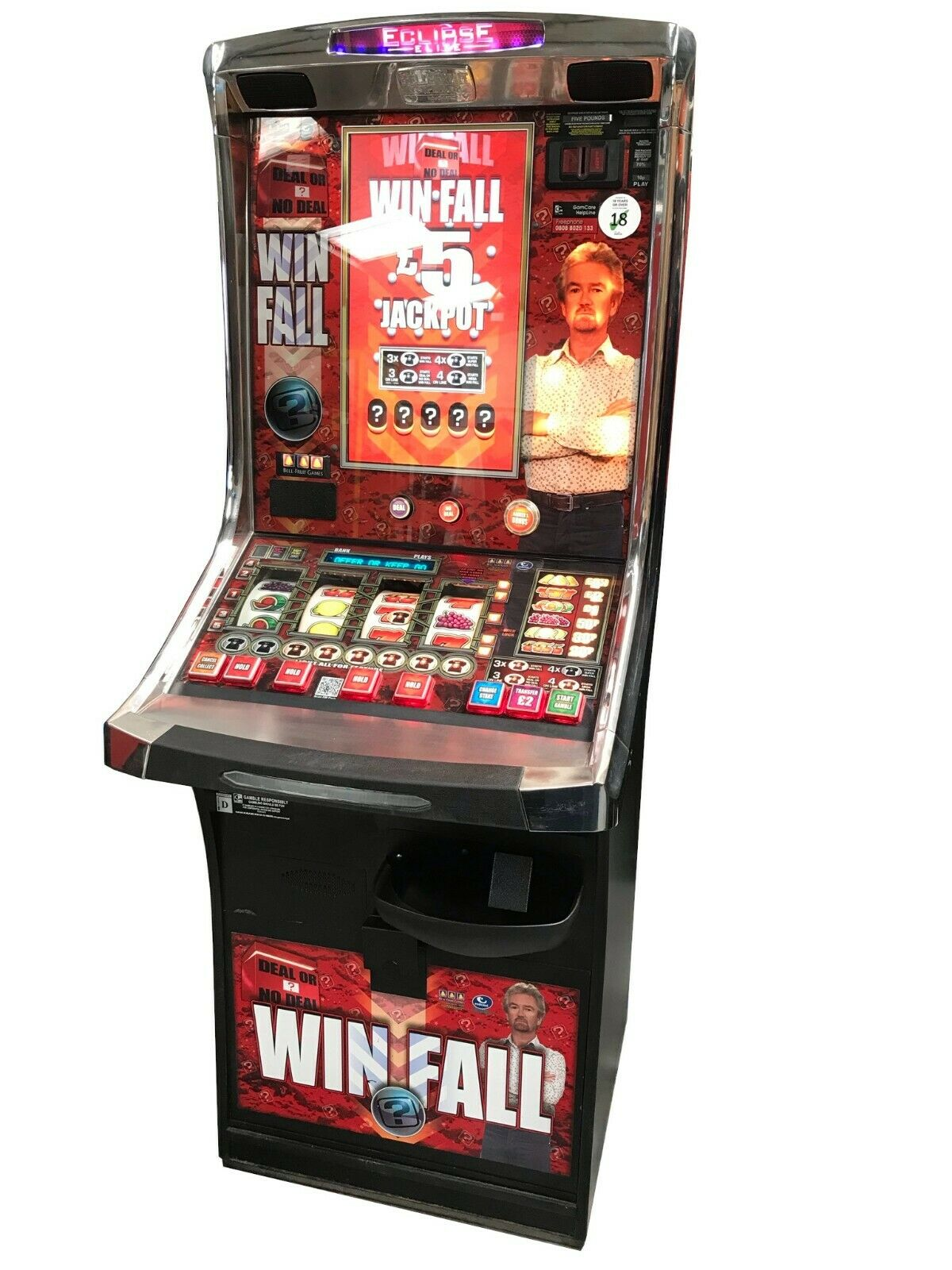 Deal or No Deal Win Fall Fruit Machine - Ready to Play - Games Room Man Cave