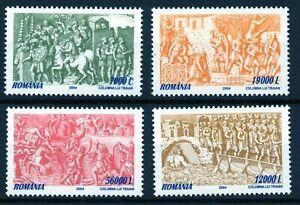 RUMANIA / ROMANIA año 2004 yvert nr. 4920/23  nueva Columna de Traiano