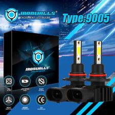 9005 LED Headlight Kit 2200W 330000LM High-Low Beam Bulb 6500K Lamp White
