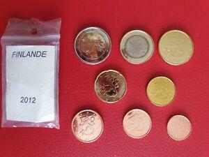 * Série complète UNC -  FINLANDE 2012 - 8 pièces