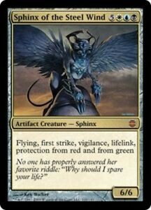 Gold Alara Reborn Mtg Magic Rare 4x x4 4 PLAYED Enigma Sphinx