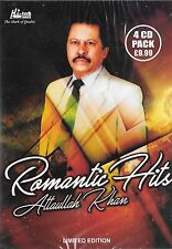 ROMANTIC HITS ATTAULLAH KHAN - LIMITED EDITION - 4CDs SET