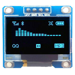 128-64-0-96-034-I2C-IIC-Serial-Blue-OLED-LCD-LED-Display-Module-for-Arduino-amp-TPLUS