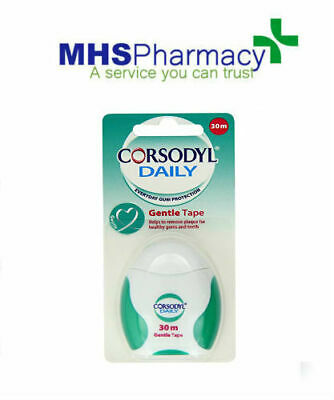 Corsodyl Daily Gentle Tape 30m Gentle On Your Gums and The Gaps Gum Protection