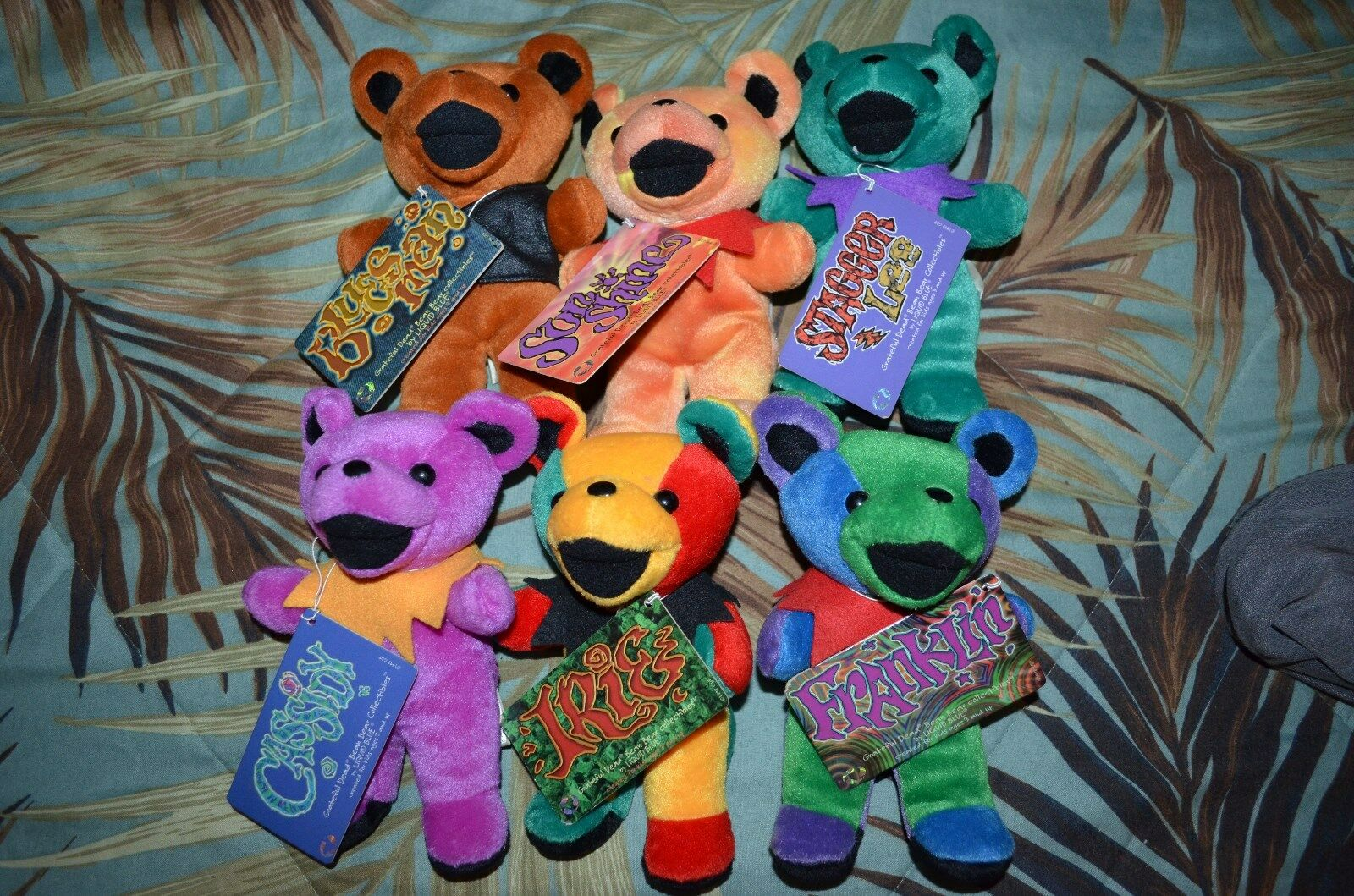 Grateful Dead Beenie Bears 6 bears (2)