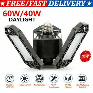 UK-360-LED-Deformable-Garage-Lights-SUPER-BRIGHT-Workshop-Ceiling-Lights-Lamps