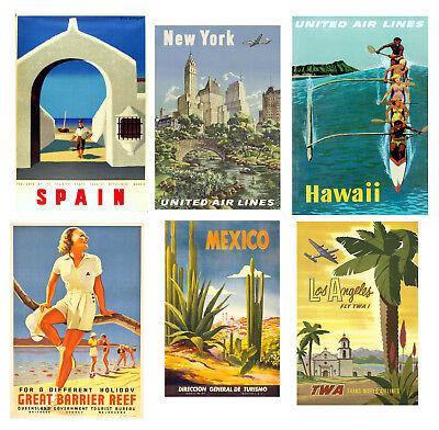 Vintage Delta Airlines Flights To New Orleans Airline Poster Print A3//A4