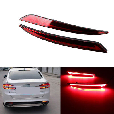Kaizen LED Rear Bumper Lamp 3 Function Refitting Tail Light With Brake Light And Turn Signal Light Daytime Running Light//DRL For Ford Fusion//Mondeo 2013-2016
