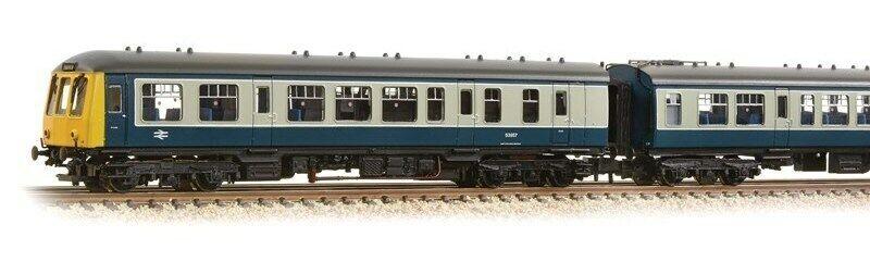 Graham Farish 371-877A classe 108 2 2 2 auto DMU BR blu grigio 6 Pin DCC Ready T48 Post c3d15d