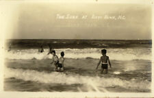 1919 KITTY HAWK NC Surf Boys Swimsuits nr Nags Head REAL PHOTO OBX postcard