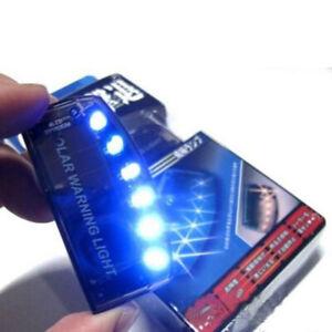 Solar-Energy-Car-Dash-Security-Burglar-Alarm-Warning-Theft-Flash-Sensor-Light
