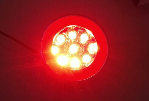 zwei Funktionen NS+Standlicht LKW LED Nebelschlußleuchte Nebelleuchte PKW