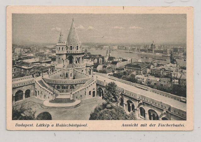 BUDAPEST HUNGARY  Fischerman's Bastion