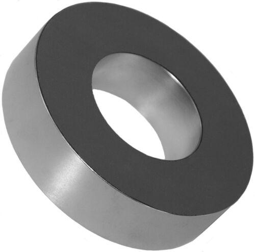 1 aimants en néodyme 4 x 2 x 1 in (environ 2.54 cm) Anneau N48