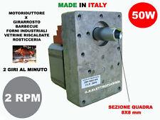 Motorino girarrosto elettrico Kenta K9171150 2 RPM giri al minuto 23W Rotazione oraria 220V Per spiedo Barbecue forno camino