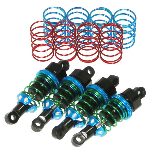 TT02-04-BK AL Shock Set W//Spring For TT02 RV2