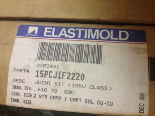 NEW ELASTIMOLD 15PCJ1F2220 POWER CABLE JOINT 15PCJ-1F