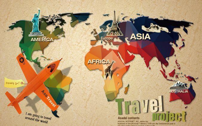 3D Karten, Flugzeuge 4029 Fototapeten Wandbild Fototapete BildTapete Familie DE