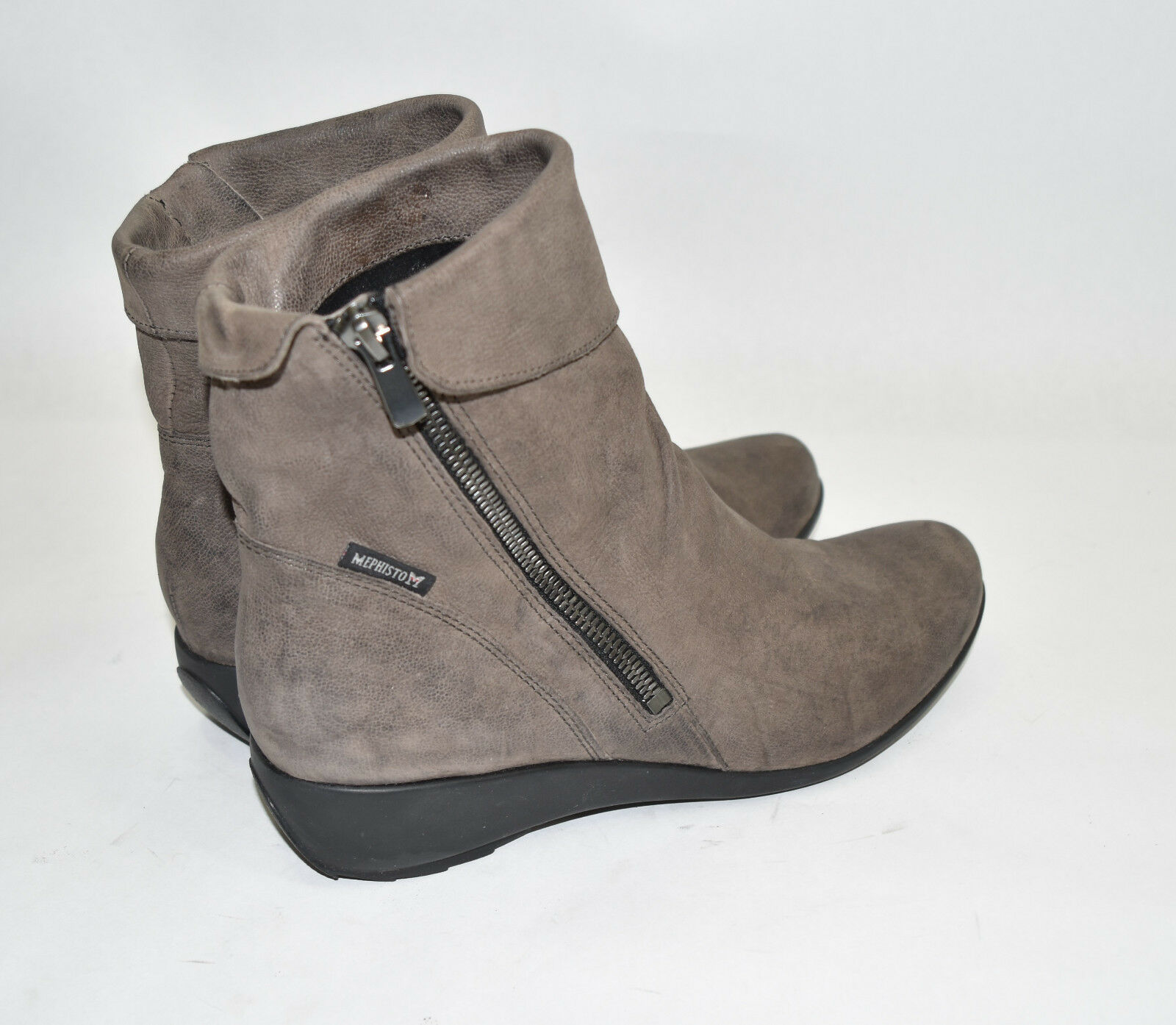 Mephisto 'Seddy' Wedge Wedge Wedge Bootie Pewter  Leder  Size 8 US $400 dedc50