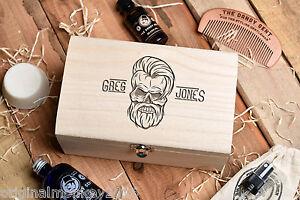 Beard Grooming Kit. Beard Oil Gift Set, Personalised Gift Set ...