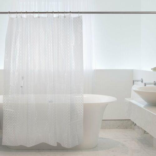 wasserdicht mit 12 Haken antibakteriell Badezimmer EVA Duschvorhang 180x180cm