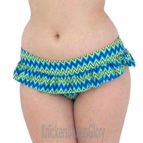 Curvy Kate Shockwave rivestite in Slip Bikini elettrocuzione Blu cs1235 selezionare le dimensioni