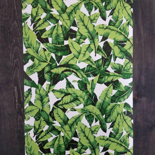 Roommates Palm Leaf Botanical Tropical Green Boho Peel and Stick Wallpaper DIY