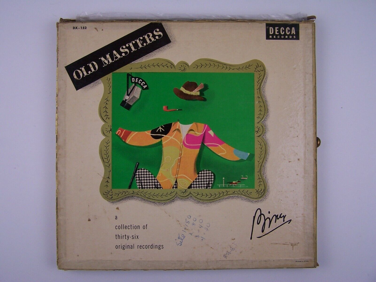 Bing Crosby - Old Masters 3xLP Vinyl Record Albums Box