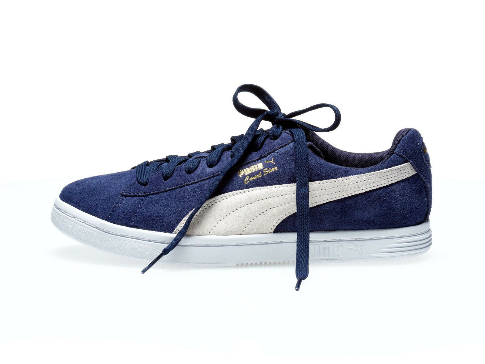pretty nice 0ad69 4e021 Puma Escarpins Star Sd FS 44.5 Baskets Hommes Daim Match Match Daim Vulc  Smash Neuf bb9085