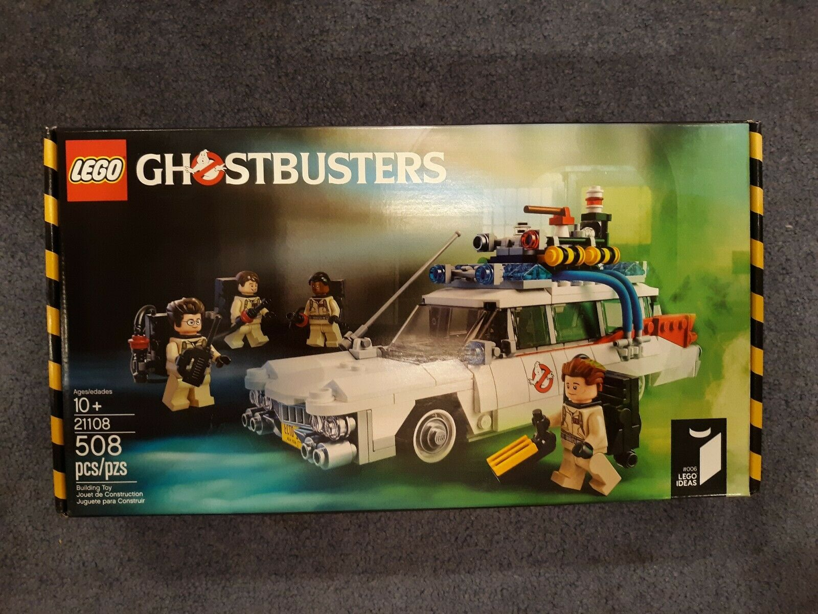 LEGO Ghostbusters Ecto-1 Car Set 21108 Sealed Brand New 508 Pieces Retired VHTF