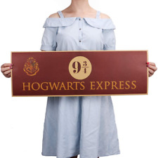 Hogwarts Express 9 3/4 Harry Potter Movie Paper Poster Wall decoration 72x24cm