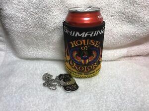House-of-Kolor-Coozie-Shimrin2-Beer-Can-Koozie-Huggie-Beverage-Cooler-amp-Dog-Tag