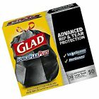 Glad ForceFlex Extra Strong Outdoor Drawstring Large Trash Bags, 30 Gallon