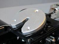 Tamiya Rc 1/14 Semi Truck Custom 5th Wheel Coupler Aluminum Cover Plate