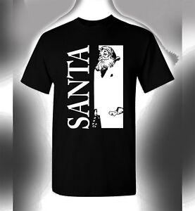 Bad Santa Christmas T Shirt Scarface Crossover Original Gangsta