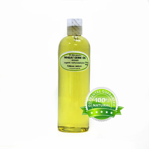 WHEAT GERM REFINED OIL BY DR.ADOROBLE 100%PURE COLD PRESSED 2 OZ-1 GALLON