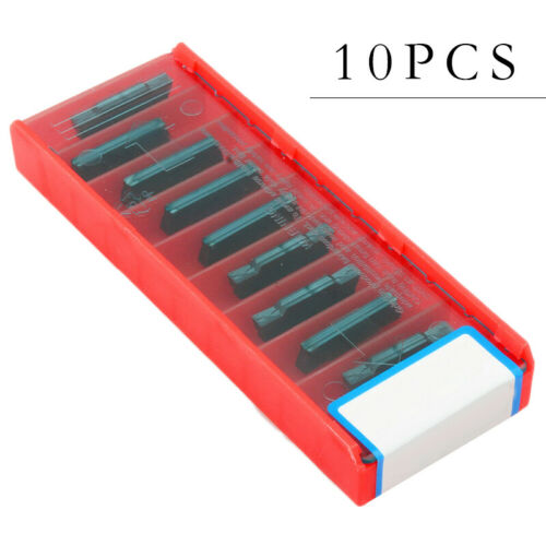 10pcs MGMN300-M Carbide Inserts GM5030 Coating Turning Tool For Stainless Steel